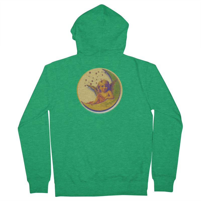 Angel Wings And Rings 2 Men's French Terry Zip-Up Hoody by Maryheartworks's Artist Shop