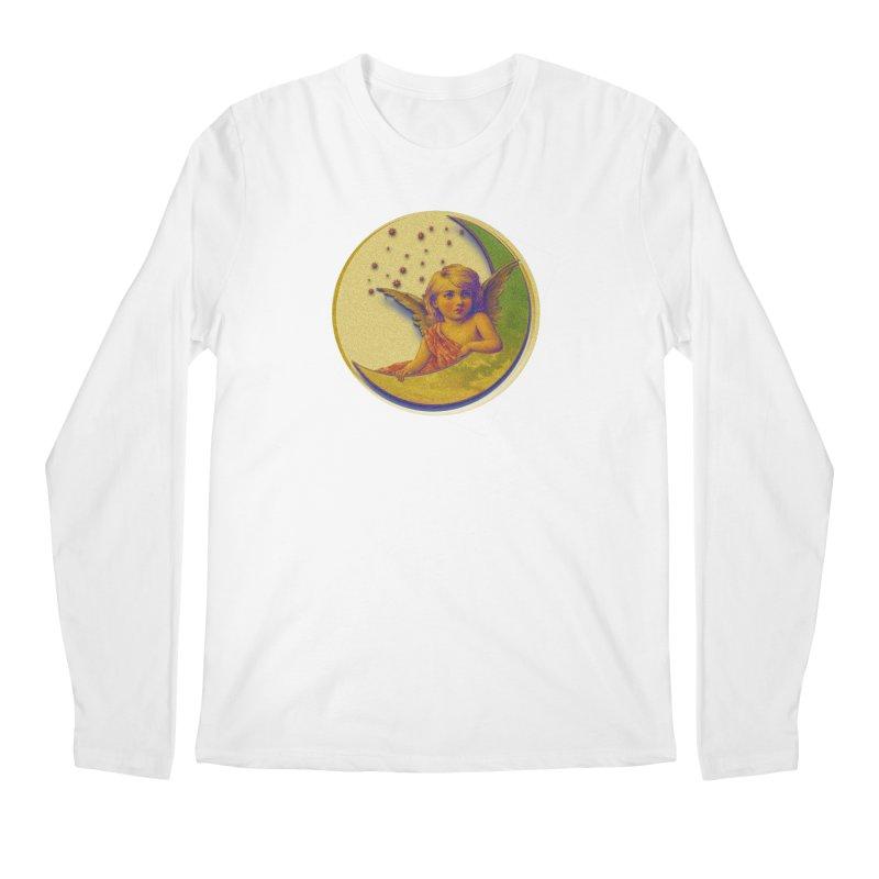 Angel Wings And Rings 2 Men's Regular Longsleeve T-Shirt by Maryheartworks's Artist Shop