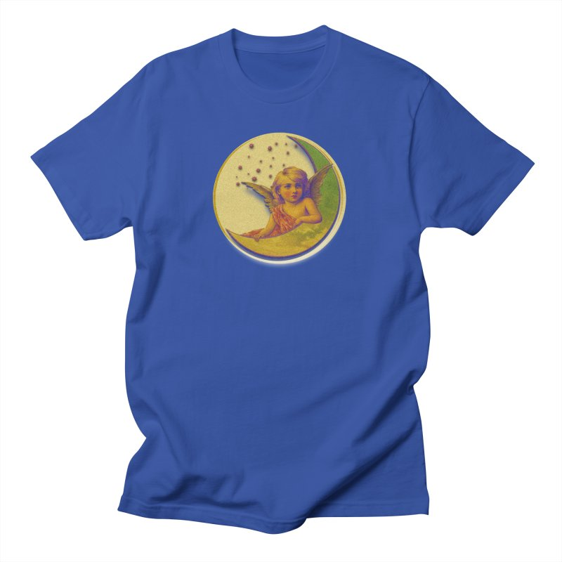 Angel Wings And Rings 2 Men's Regular T-Shirt by Maryheartworks's Artist Shop