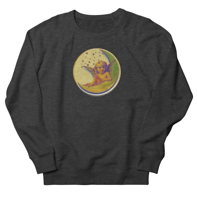 Angel Wings And Rings 2 Women's French Terry Sweatshirt by Maryheartworks's Artist Shop
