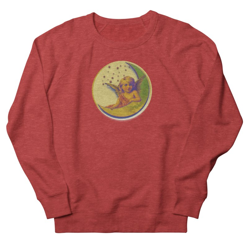 Angel Wings And Rings 2 Men's French Terry Sweatshirt by Maryheartworks's Artist Shop