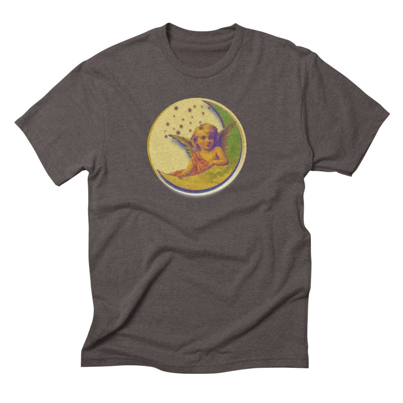 Angel Wings And Rings 2 Men's Triblend T-Shirt by Maryheartworks's Artist Shop