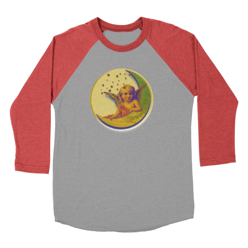 Angel Wings And Rings 2 Women's Baseball Triblend Longsleeve T-Shirt by Maryheartworks's Artist Shop
