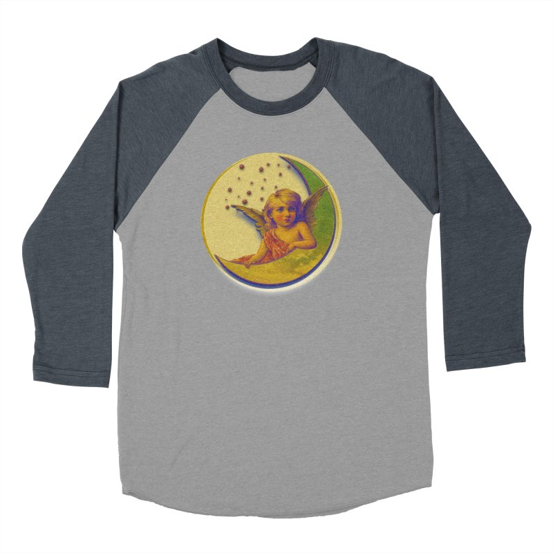 Angel Wings And Rings 2 Men's Baseball Triblend Longsleeve T-Shirt by Maryheartworks's Artist Shop