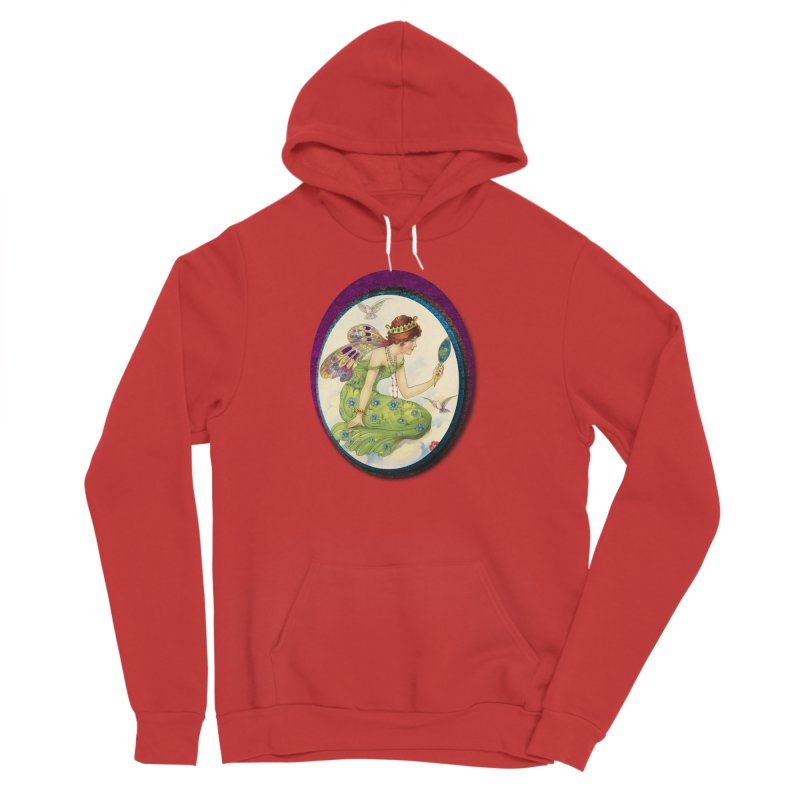 Fairy With Her Looking Glass Men's Pullover Hoody by Maryheartworks's Artist Shop