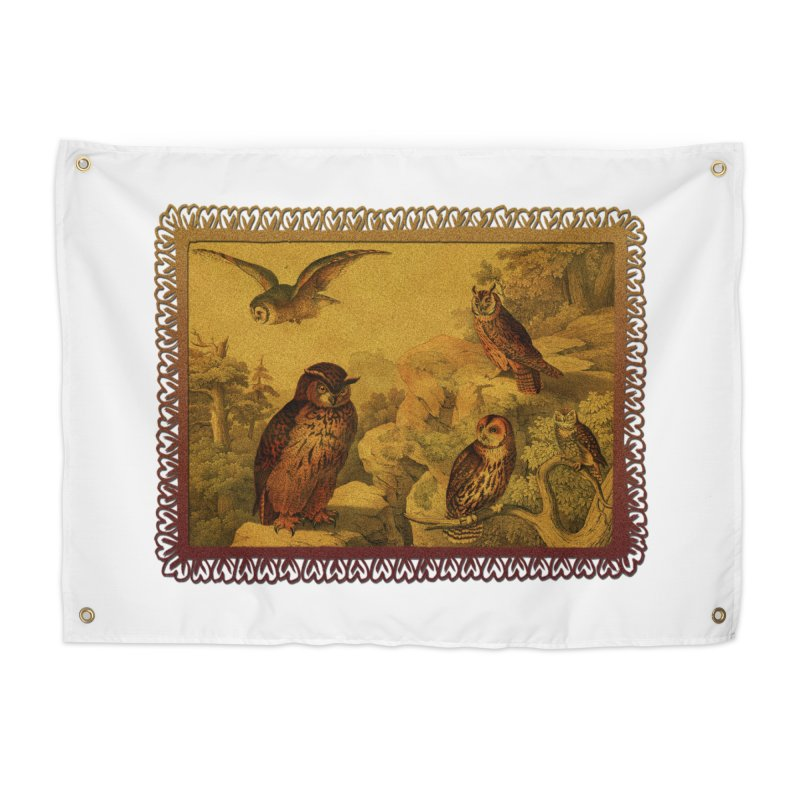 Owl Love Home Tapestry by Maryheartworks's Artist Shop