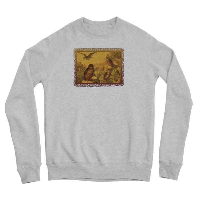 Owl Love Men's Sponge Fleece Sweatshirt by Maryheartworks's Artist Shop