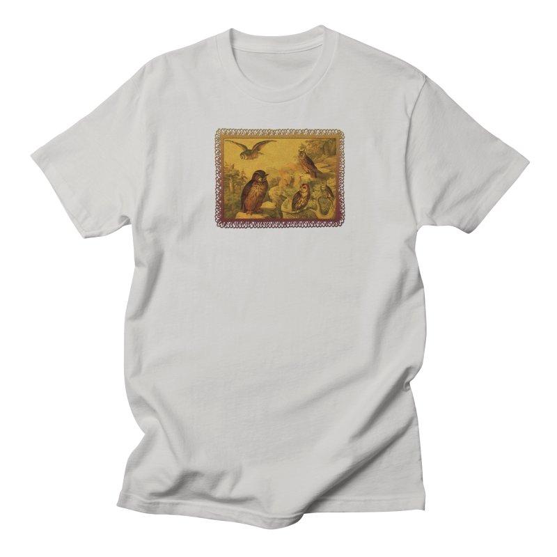 Owl Love Women's Regular Unisex T-Shirt by Maryheartworks's Artist Shop