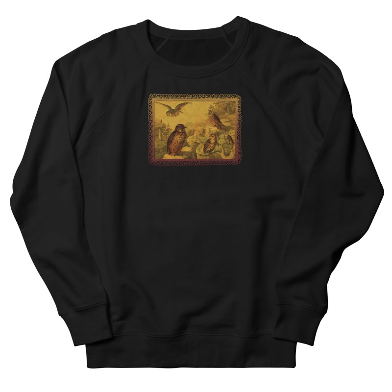 Owl Love Men's French Terry Sweatshirt by Maryheartworks's Artist Shop