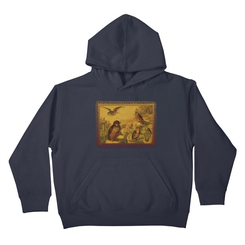 Owl Love Kids Pullover Hoody by Maryheartworks's Artist Shop