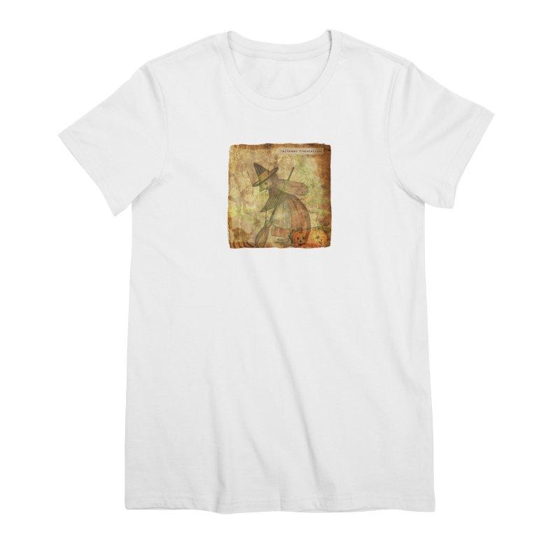 Halloween Preparations Women's Premium T-Shirt by Maryheartworks's Artist Shop