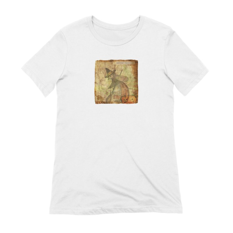 Halloween Preparations Women's Extra Soft T-Shirt by Maryheartworks's Artist Shop