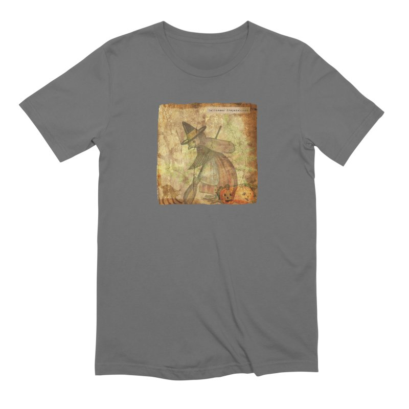 Halloween Preparations Men's Extra Soft T-Shirt by Maryheartworks's Artist Shop