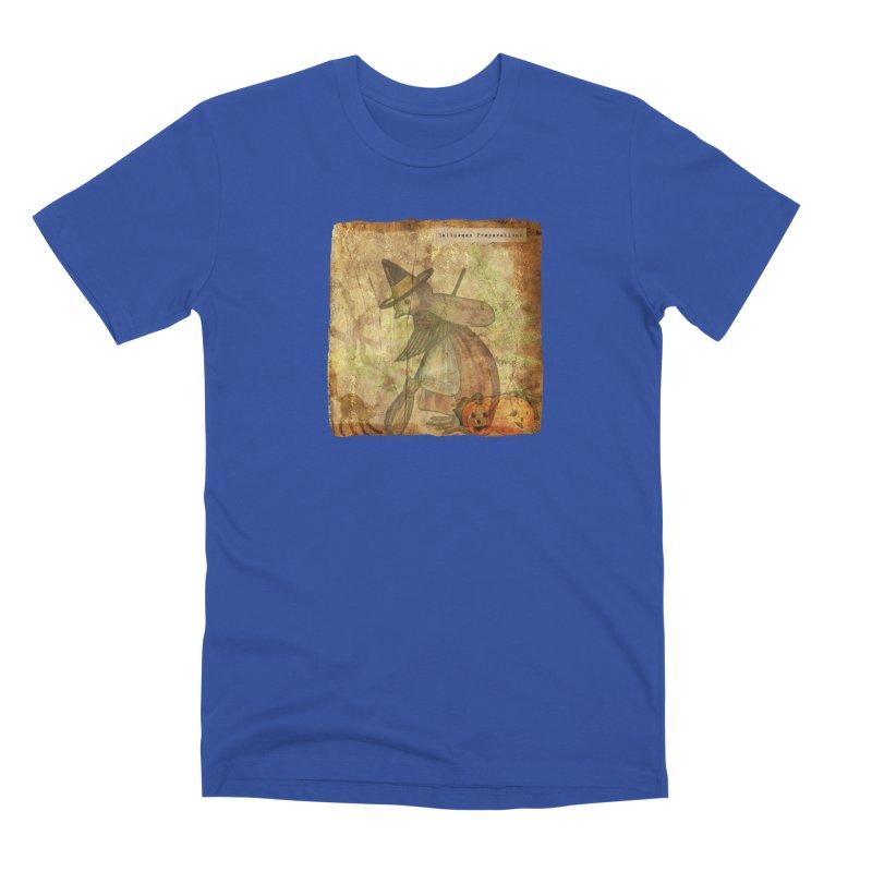 Halloween Preparations Men's Premium T-Shirt by Maryheartworks's Artist Shop