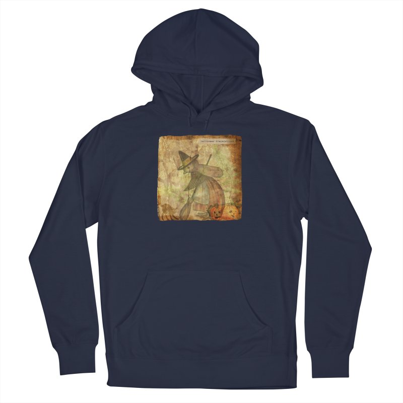 Halloween Preparations Women's French Terry Pullover Hoody by Maryheartworks's Artist Shop