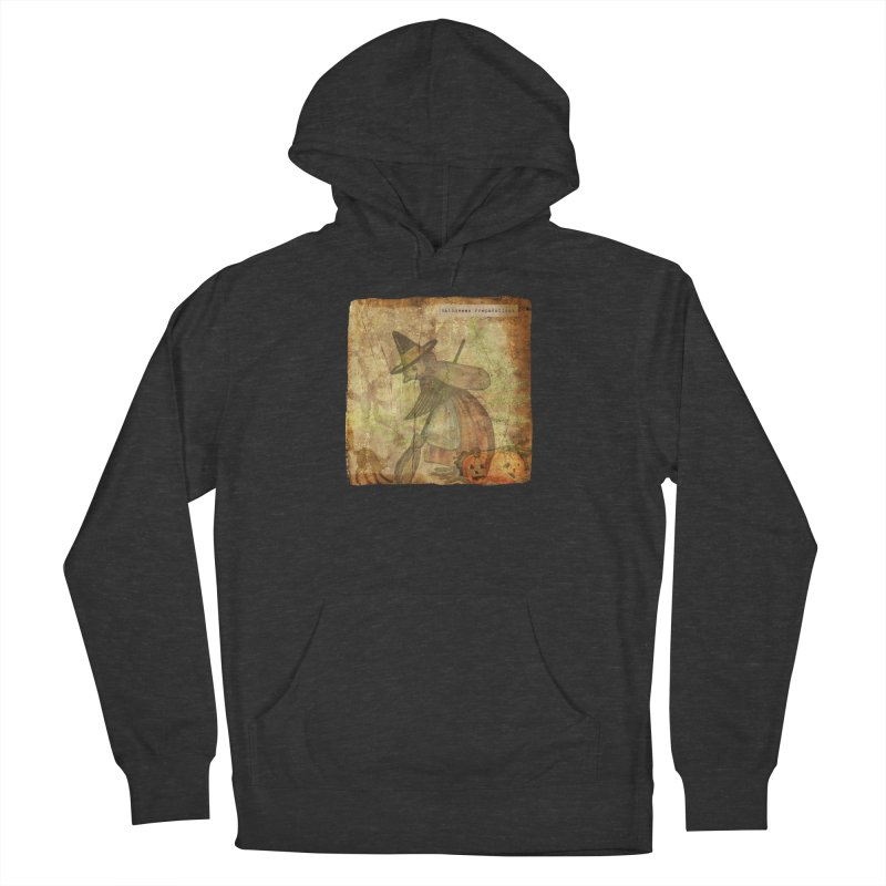 Halloween Preparations Men's French Terry Pullover Hoody by Maryheartworks's Artist Shop