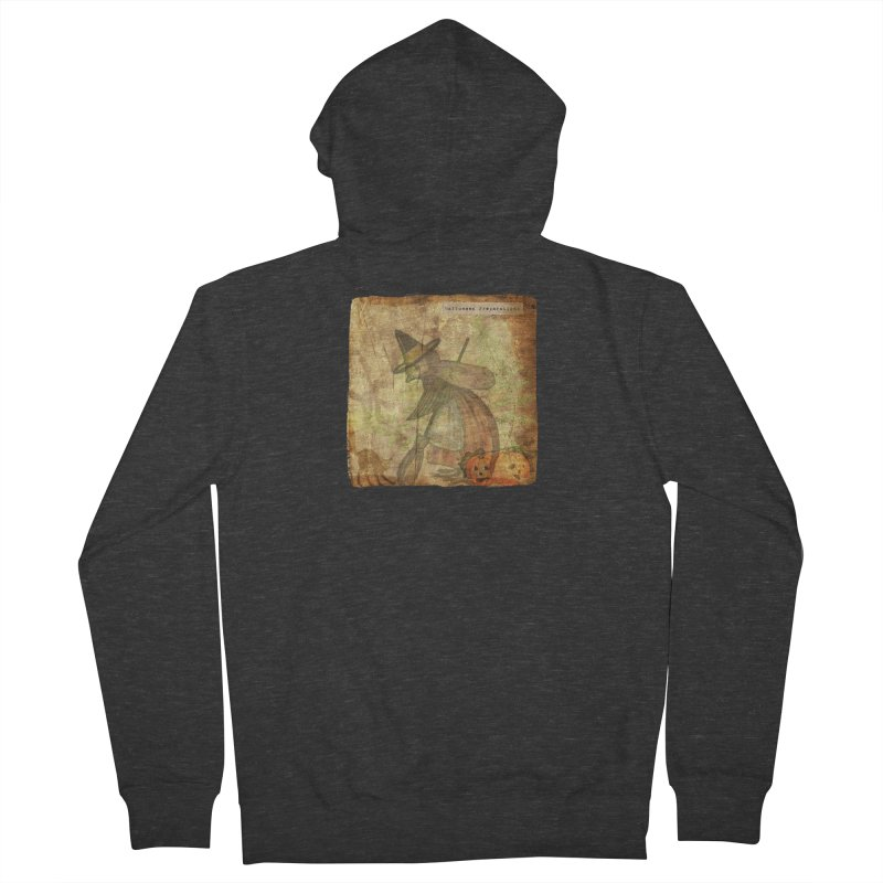 Halloween Preparations Men's French Terry Zip-Up Hoody by Maryheartworks's Artist Shop
