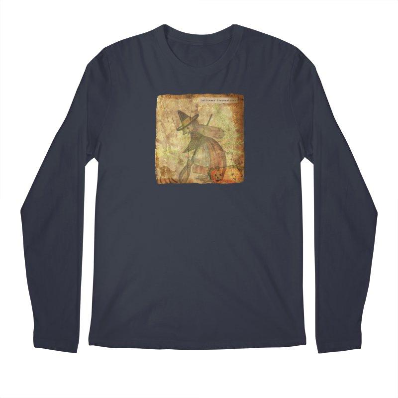 Halloween Preparations Men's Regular Longsleeve T-Shirt by Maryheartworks's Artist Shop