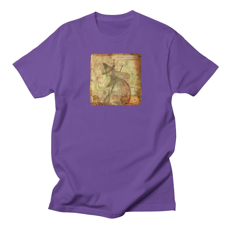 Halloween Preparations Women's Regular Unisex T-Shirt by Maryheartworks's Artist Shop
