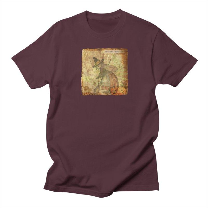 Halloween Preparations Men's Regular T-Shirt by Maryheartworks's Artist Shop