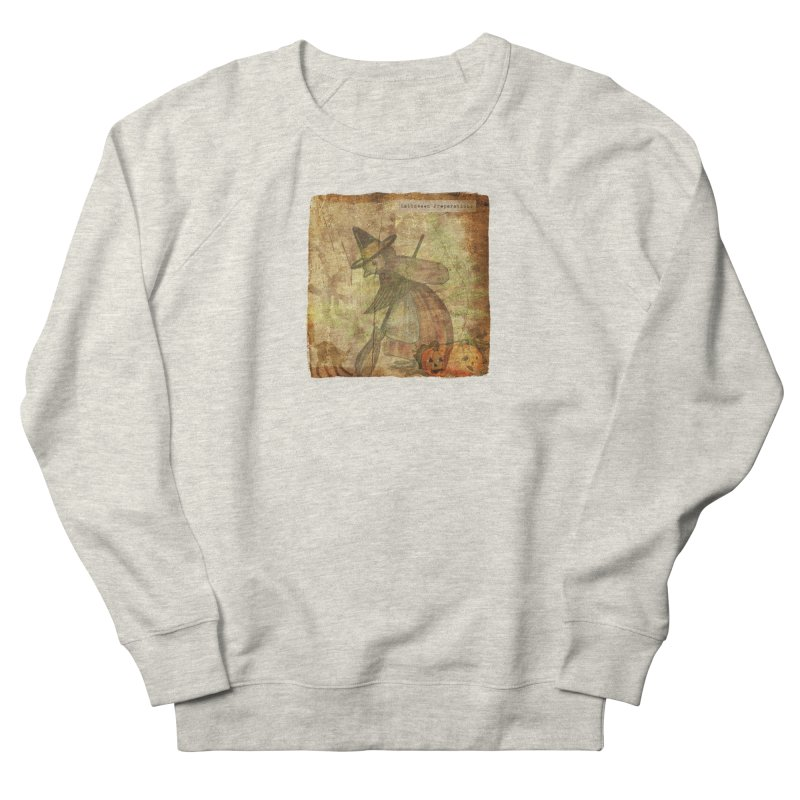 Halloween Preparations Women's French Terry Sweatshirt by Maryheartworks's Artist Shop