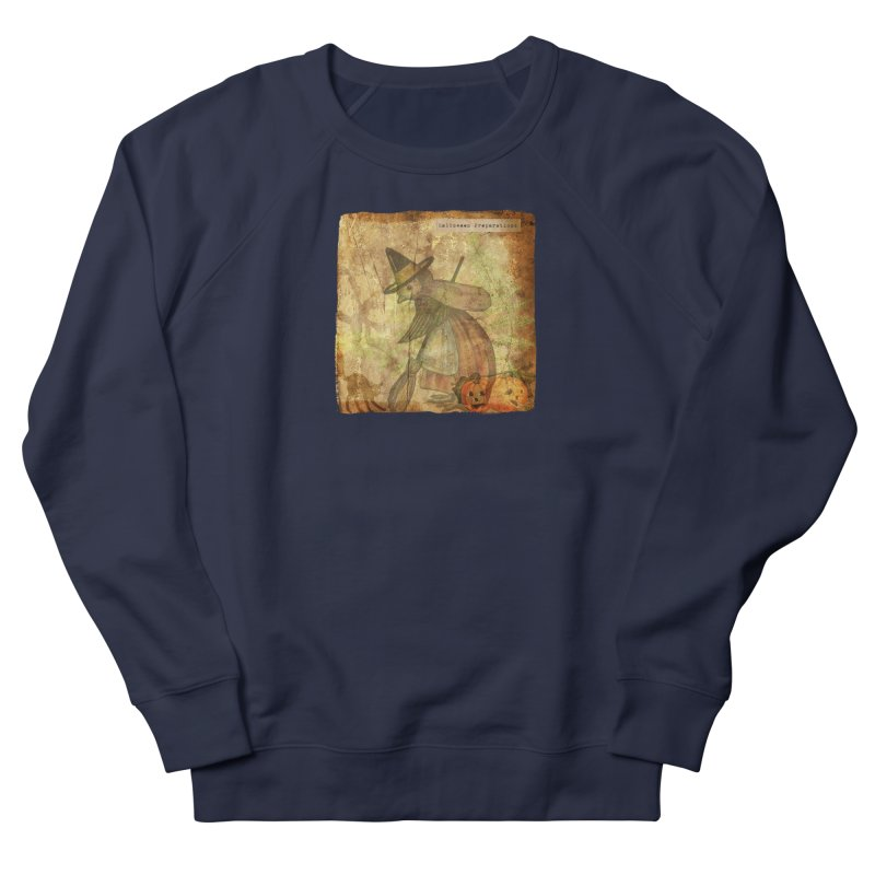 Halloween Preparations Men's French Terry Sweatshirt by Maryheartworks's Artist Shop