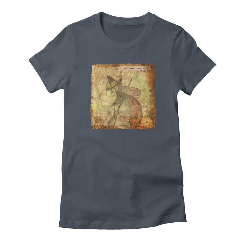 Halloween Preparations Women's T-Shirt by Maryheartworks's Artist Shop