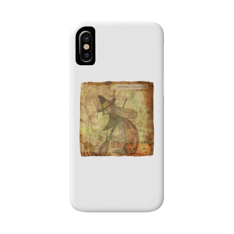 Halloween Preparations Accessories Phone Case by Maryheartworks's Artist Shop