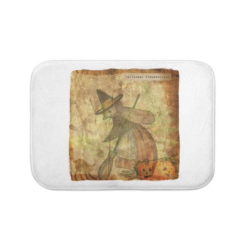 Halloween Preparations Home Bath Mat by Maryheartworks's Artist Shop