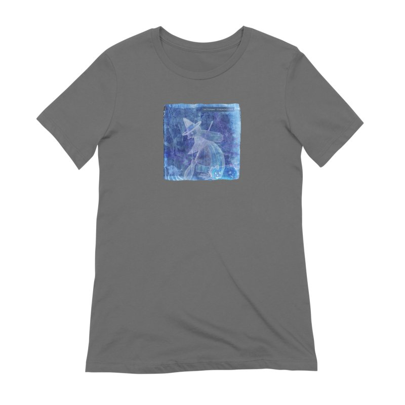 Halloween Preparations Design In Blue Boo Women's T-Shirt by Maryheartworks's Artist Shop