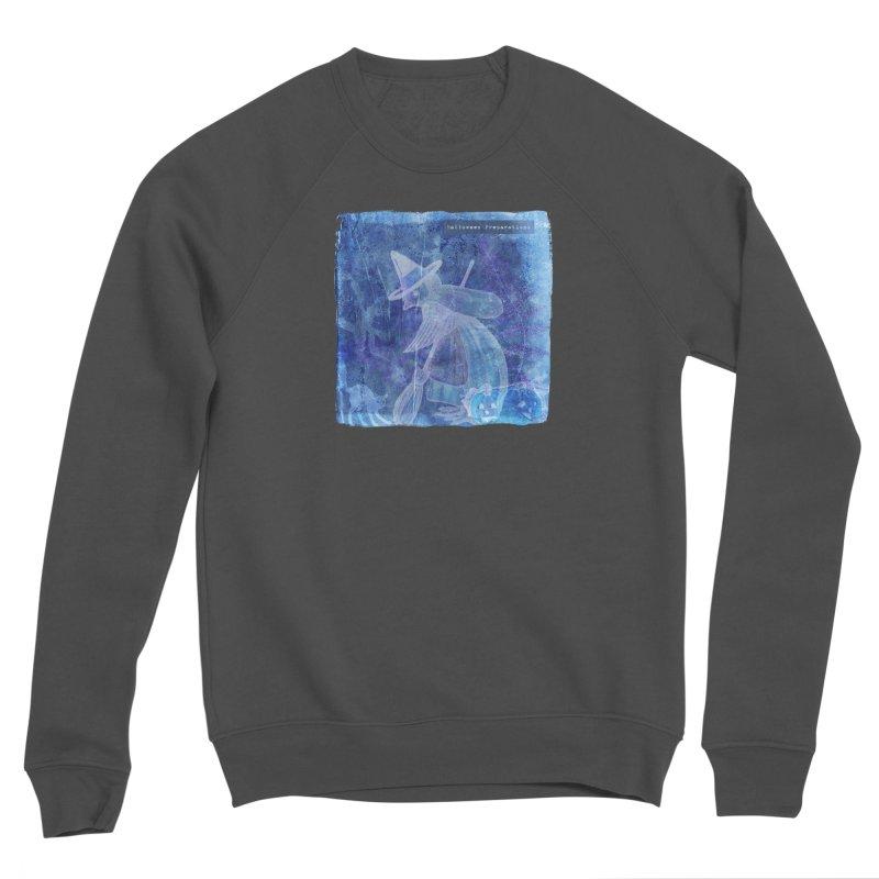 Halloween Preparations Design In Blue Boo Men's Sponge Fleece Sweatshirt by Maryheartworks's Artist Shop