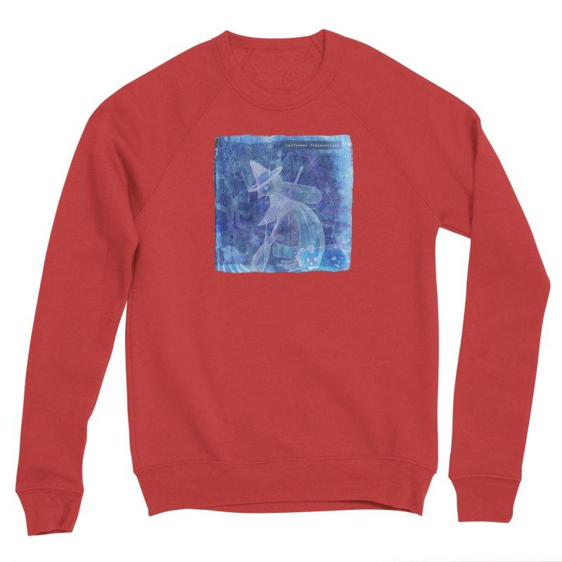 Halloween Preparations Design In Blue Boo Women's Sponge Fleece Sweatshirt by Maryheartworks's Artist Shop