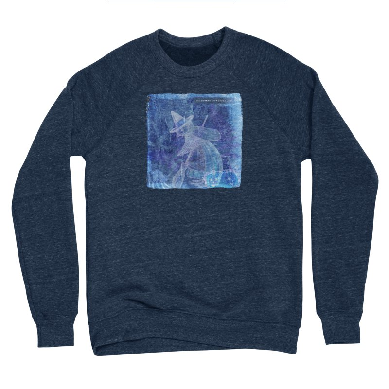 Halloween Preparations Design In Blue Boo Men's Sponge Fleece Sweatshirt by Maryheartworks's Artist Shop