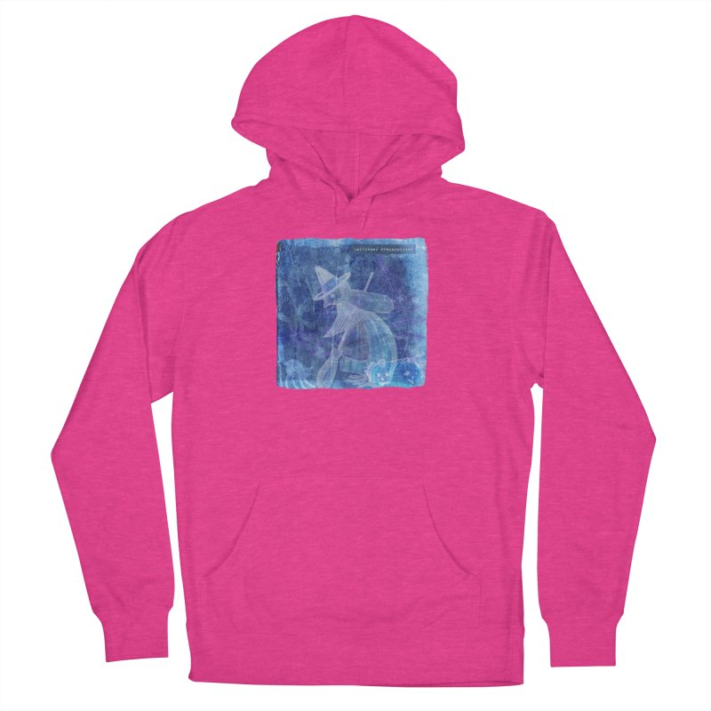 Halloween Preparations Design In Blue Boo Women's French Terry Pullover Hoody by Maryheartworks's Artist Shop