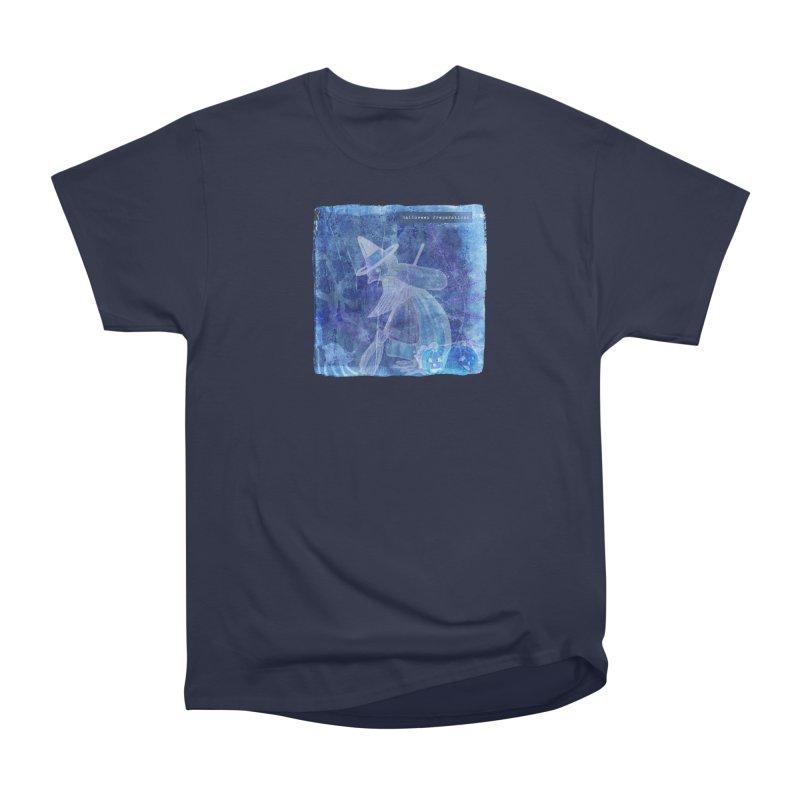 Halloween Preparations Design In Blue Boo Men's Heavyweight T-Shirt by Maryheartworks's Artist Shop