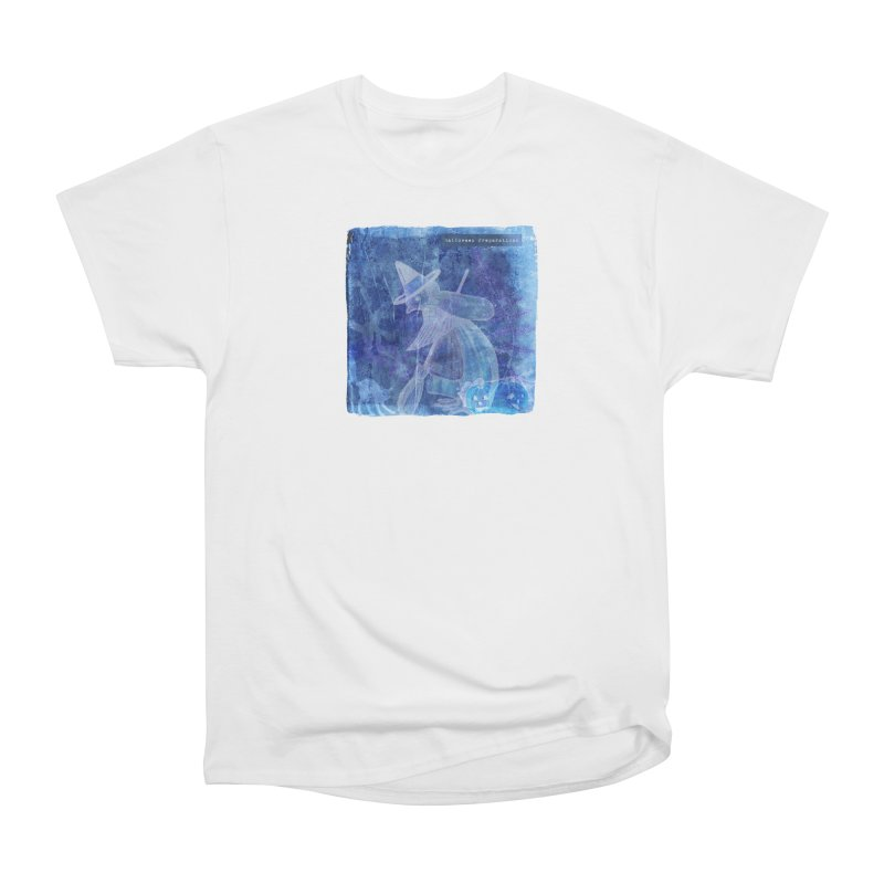 Halloween Preparations Design In Blue Boo Women's Heavyweight Unisex T-Shirt by Maryheartworks's Artist Shop