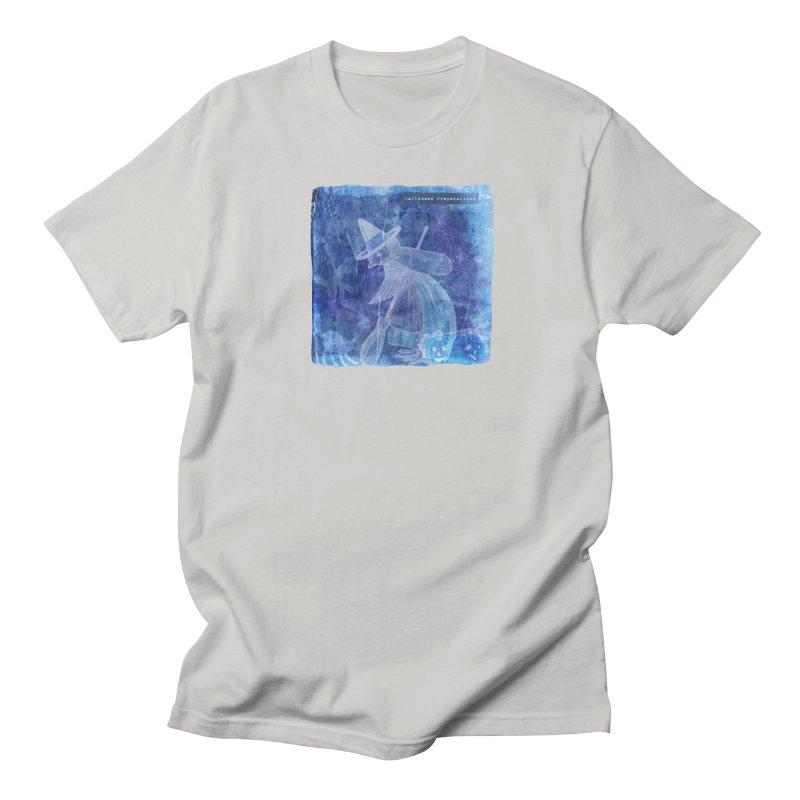 Halloween Preparations Design In Blue Boo Men's Regular T-Shirt by Maryheartworks's Artist Shop