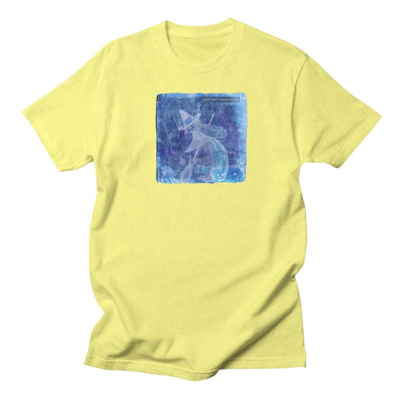 Halloween Preparations Design In Blue Boo Men's Regular T-Shirt by Maryheartworks's Artist Shop