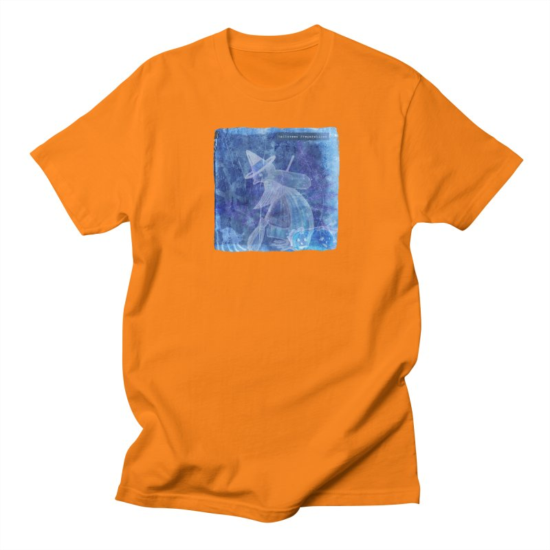 Halloween Preparations Design In Blue Boo Women's Regular Unisex T-Shirt by Maryheartworks's Artist Shop