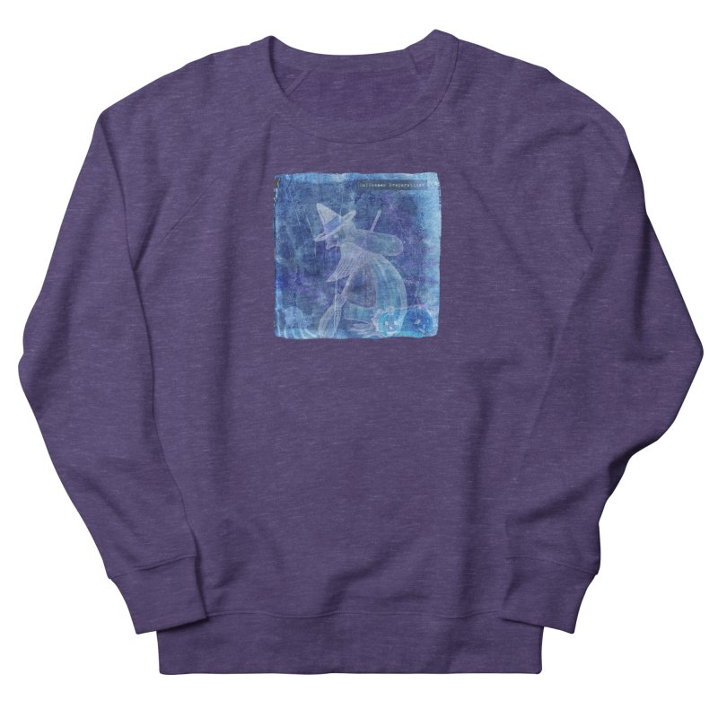 Halloween Preparations Design In Blue Boo Men's French Terry Sweatshirt by Maryheartworks's Artist Shop