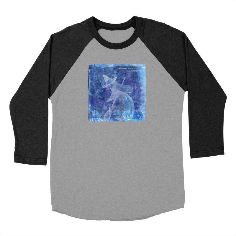 Halloween Preparations Design In Blue Boo Women's Baseball Triblend Longsleeve T-Shirt by Maryheartworks's Artist Shop