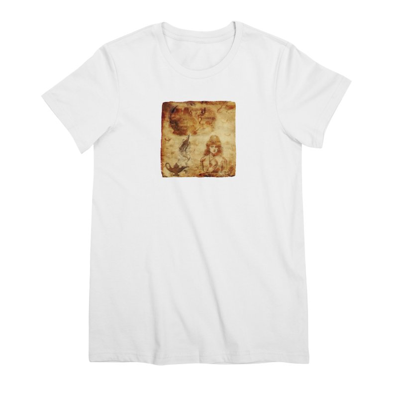 A Jolly Halloween - The Fortune Teller Women's Premium T-Shirt by Maryheartworks's Artist Shop