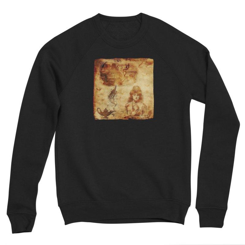 A Jolly Halloween - The Fortune Teller Women's Sponge Fleece Sweatshirt by Maryheartworks's Artist Shop