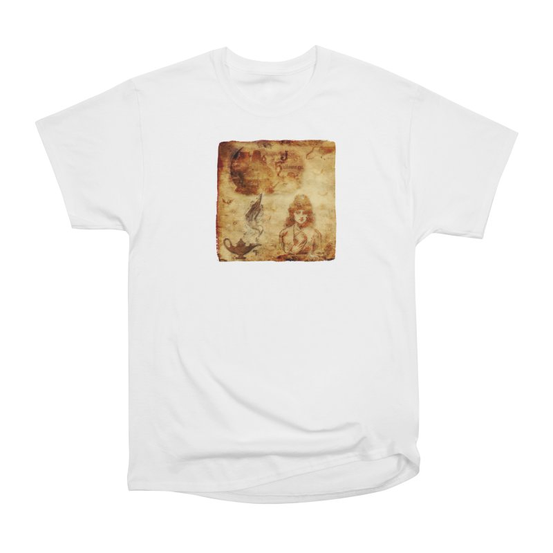 A Jolly Halloween - The Fortune Teller Women's Heavyweight Unisex T-Shirt by Maryheartworks's Artist Shop