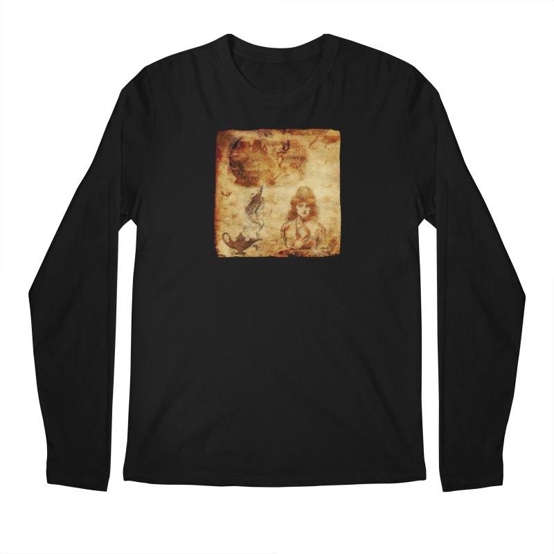 A Jolly Halloween - The Fortune Teller Men's Regular Longsleeve T-Shirt by Maryheartworks's Artist Shop