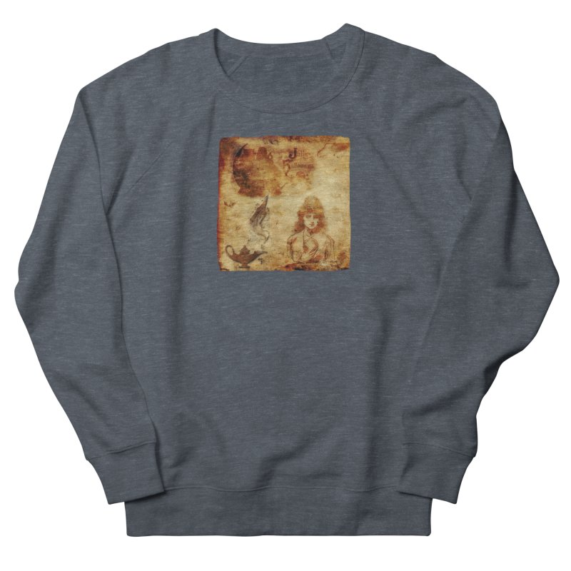 A Jolly Halloween - The Fortune Teller Women's French Terry Sweatshirt by Maryheartworks's Artist Shop