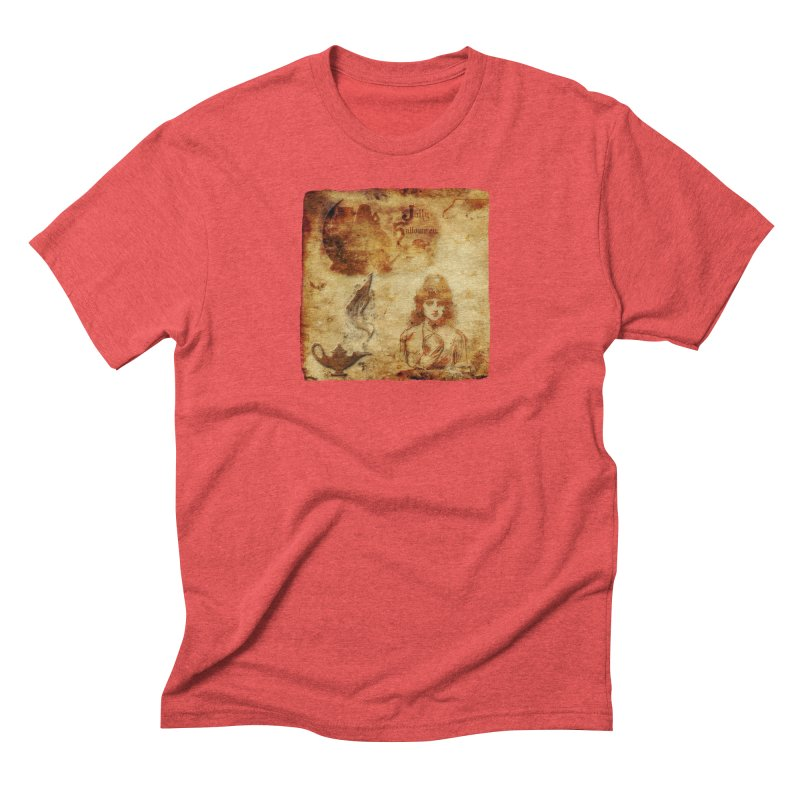 A Jolly Halloween - The Fortune Teller Men's Triblend T-Shirt by Maryheartworks's Artist Shop