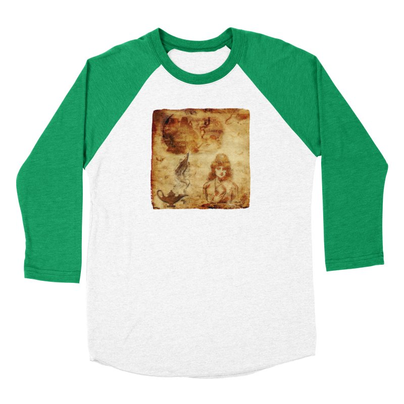 A Jolly Halloween - The Fortune Teller Men's Baseball Triblend Longsleeve T-Shirt by Maryheartworks's Artist Shop