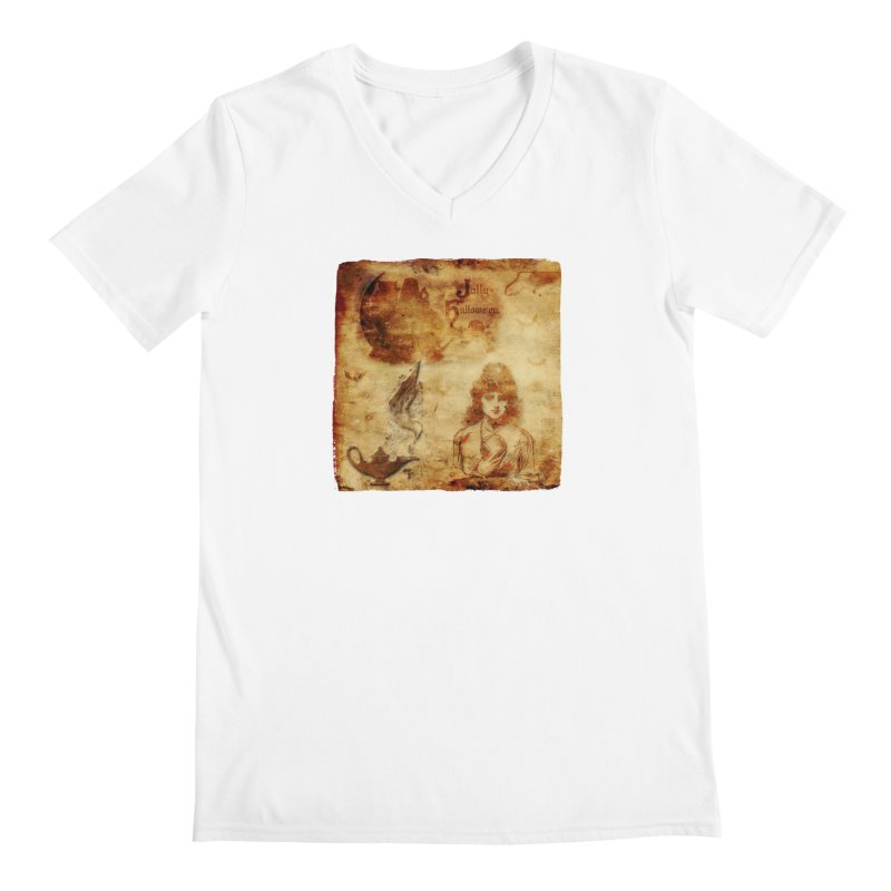 A Jolly Halloween - The Fortune Teller Men's V-Neck by Maryheartworks's Artist Shop