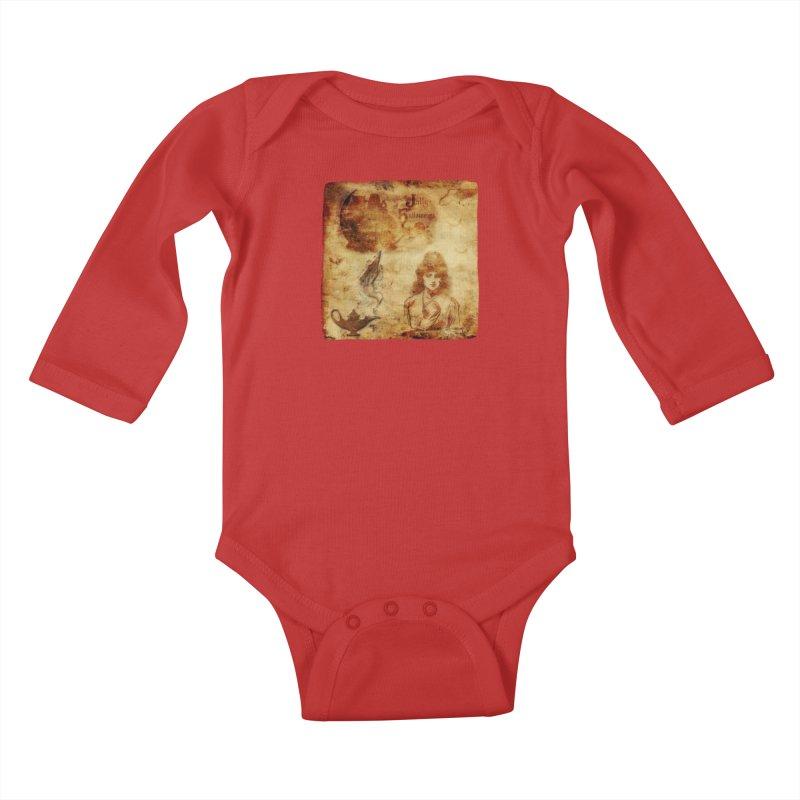A Jolly Halloween - The Fortune Teller Kids Baby Longsleeve Bodysuit by Maryheartworks's Artist Shop